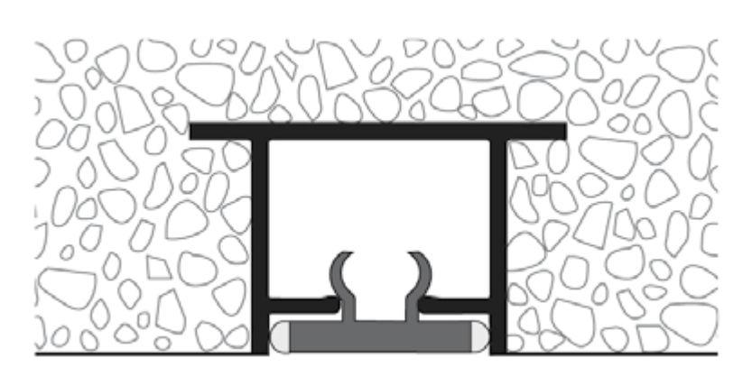 schema binario acciaio inox per esterno binario outdoor tendagi binario per esterno certificato tappo per protezione sporco tappo per protezione cantiere